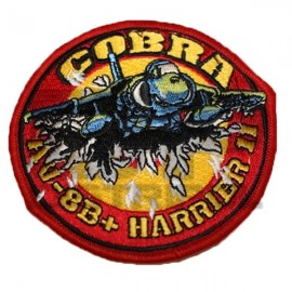 PARCHE BORDADO COBRA HARRIER II