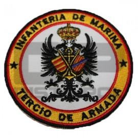 PARCHE BORDADO  INFANTERIA MARIA TERCIO ARMADA
