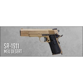 SR-1911 MEU Desert Full Metal Gas