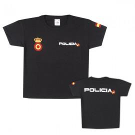CAMISETA NIÑO POLICIA