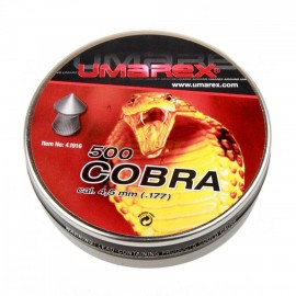 Balines Umarex Cobra 0,50 G 500 X 5 Pack - 4,5mm