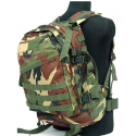 Mochila 3D assault backpack 40L-45L Woodland