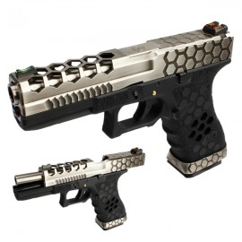PISTOLA ARMORER WORKS G17 HEX-CUT