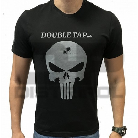 CAMISETA IMMORTAL CALAVERA DOUBLE TAP