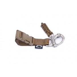 Accesorio cinturón, manos libres con el perro y cierre de liberación rápida