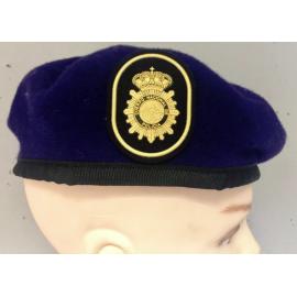 Boina Policía Nacional GOES. ESCALA SUBINSPECCIÓN