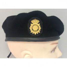 Boina Policía Nacional TEDAX. ESCALA BÁSICA