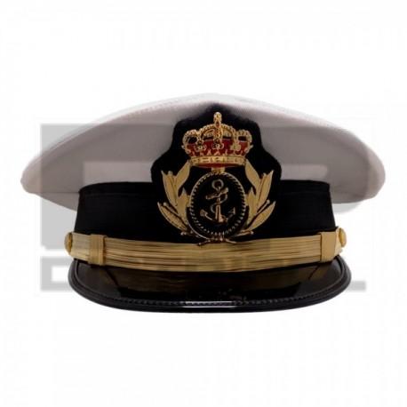 Gorra Cartagenera Oficial Armada con emblema metálico