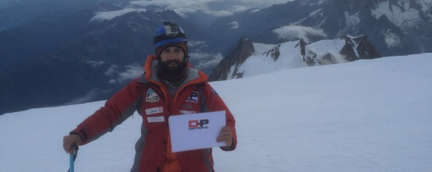 Cima en el Mont Blanc