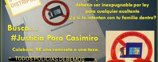 Justicia para Casimiro.