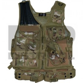 CHALECO TACTICO RAIDS MULTICAM