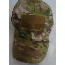 GORRA CON PARCHES MULTICAM0
