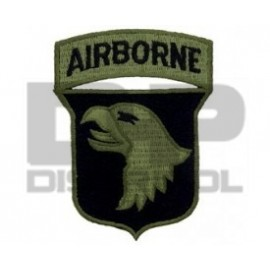 PARCHE 101.ST AIRBORNE GREEN