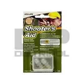 Válvula auditivas  SHOOTERS AID