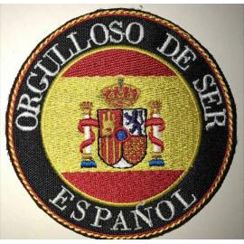 "PARCHE BORDADO "" ORGULLOSO DE SER ESPAÑOL """