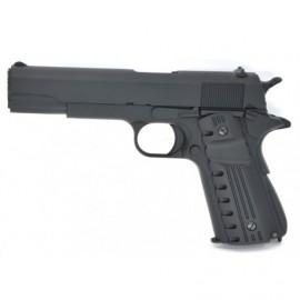Pistola Gas 1911 Blow Back Golden Eagle color negro