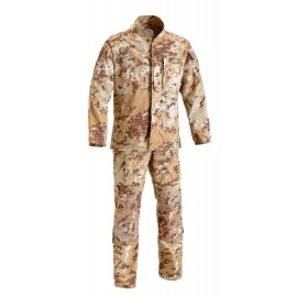 DEFCON 5 REGULAR ARMY UNIFORM ITALIAN CAMO 65%POLYESTER- 35% COTTON