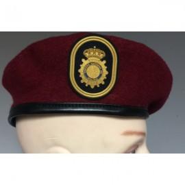 Boina Policía Nacional GEO. ESCALA EJECUTIVA