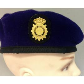 Boina Policía Nacional GOES. ESCALA BÁSICA