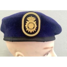 Boina Policía Nacional GOES. ESCALA EJECUTIVA