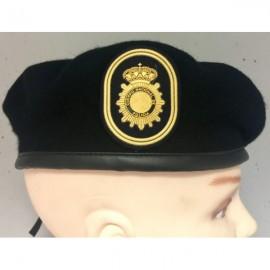 Boina Policía Nacional TEDAX. ESCALA EJECUTIVA
