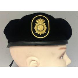 Boina Policía Nacional TEDAX. ESCALA SUBINSPECCIÓN