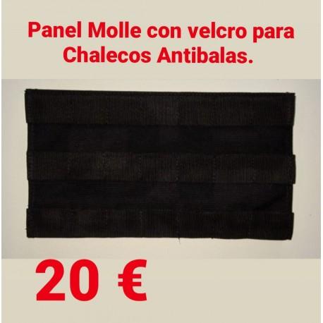 Panel Molle Velcro Chaleco Antibalas