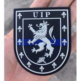 """PARCHE UIP """"LA DELGADA LÍNEA AZUL"""""""