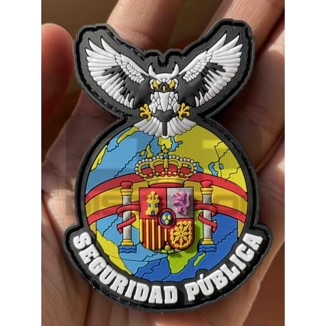 """PARCHE """"SEGURIDAD PÚBLICA ESPAÑOLA"""""""