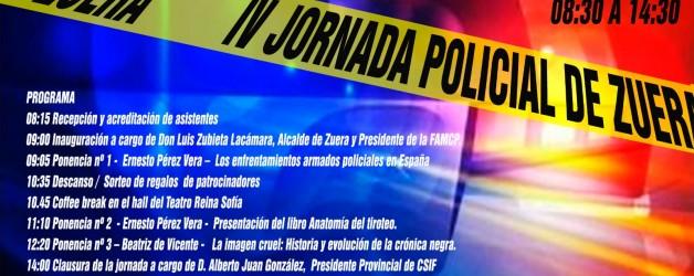 IV JORNADA POLICIAL DE  ZUERA